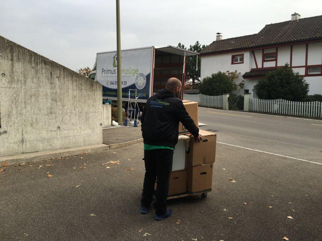 Ihre Umzugsfrima In Stäfa - Primus Umzugs GmbH